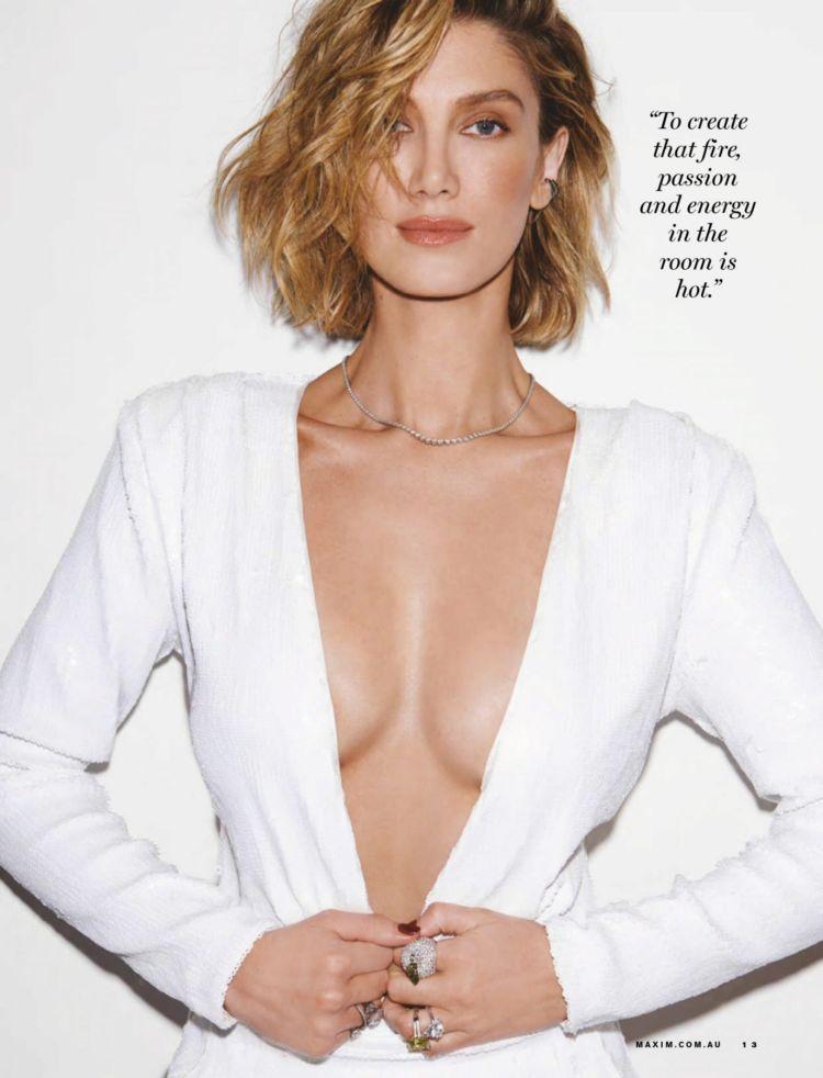 Delta Goodrem Shoots For Maxim Australia Magazine