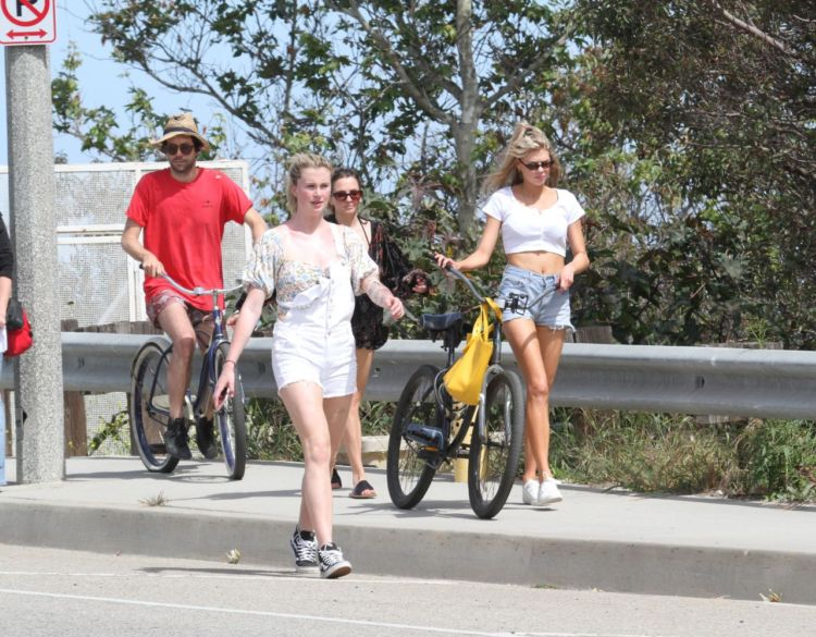 Ireland Baldwin And Charlotte McKinney Out Together In Malibu