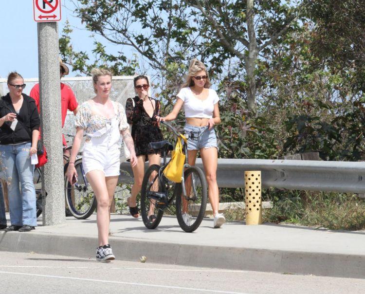Ireland Baldwin And Charlotte McKinney Out Together In Malibu