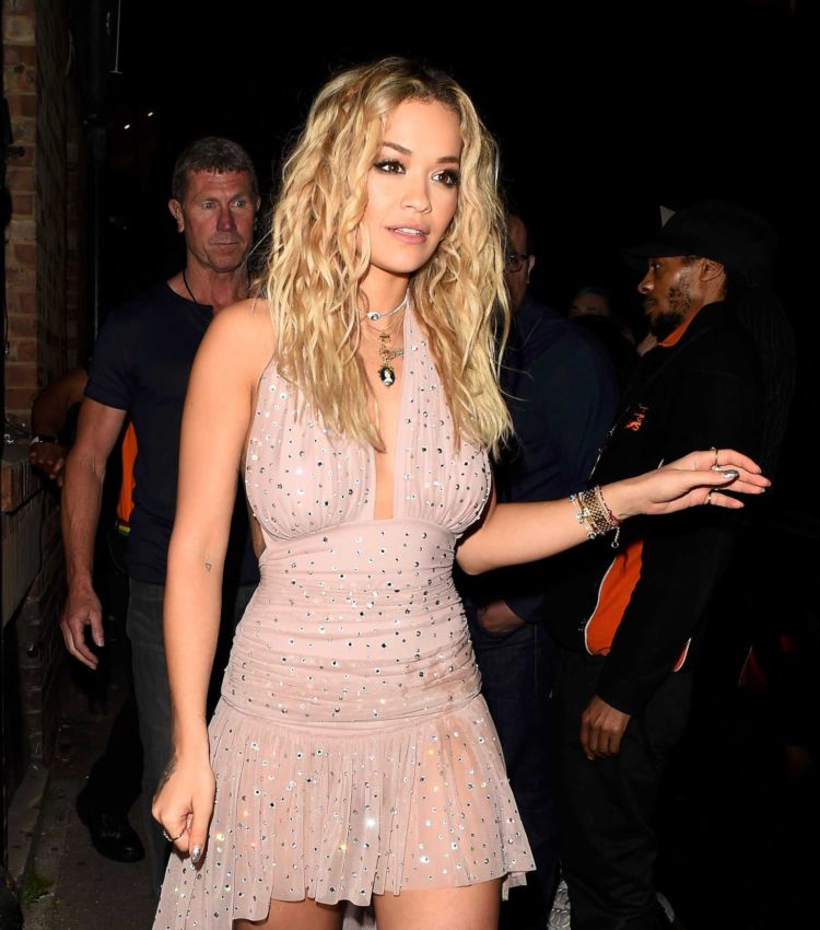 Rita Ora Out On A Night Out In London