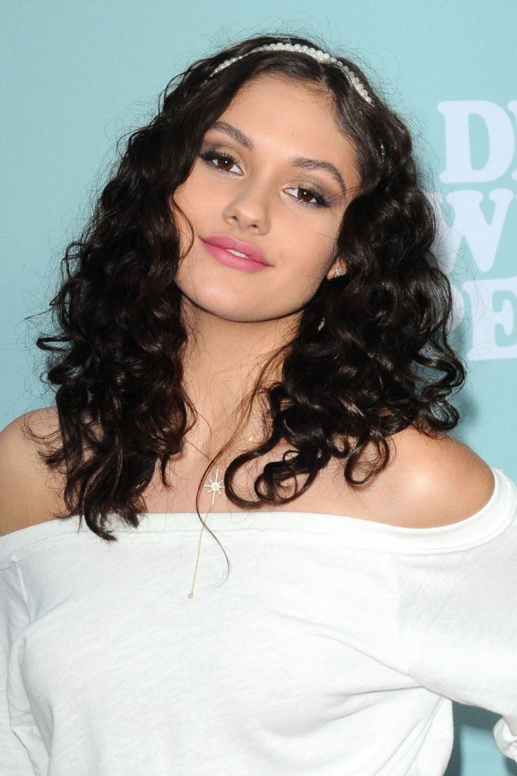 """Ronni Hawk In A White Dress At """"Dear White People"""" TV Show Premiere"""