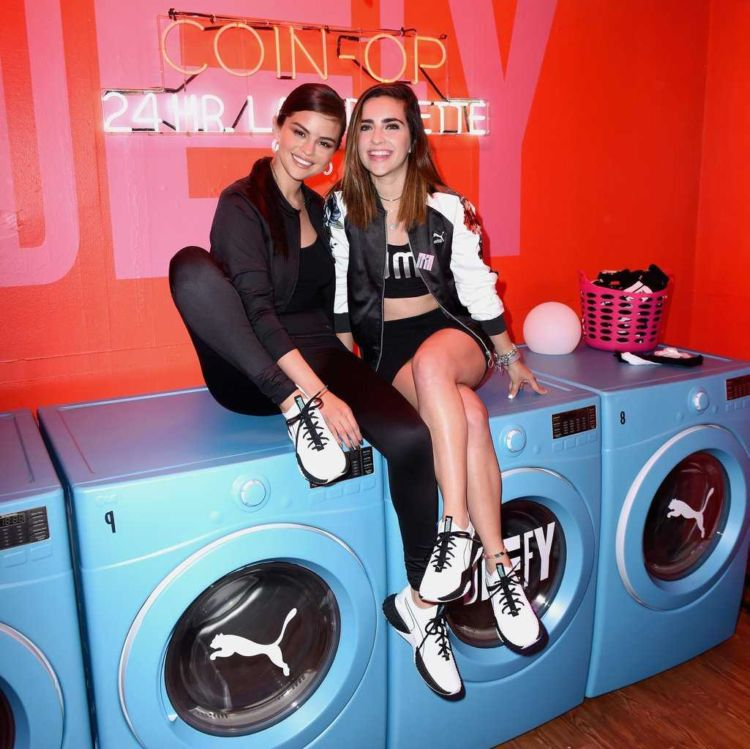 Selena Gomez At The Puma Defy City Event