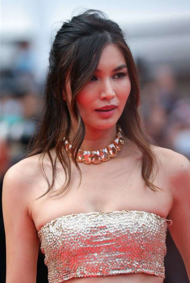 Gemma Chan Attends The Screening Of 'Les Intranquilles' At Cannes Film Festival