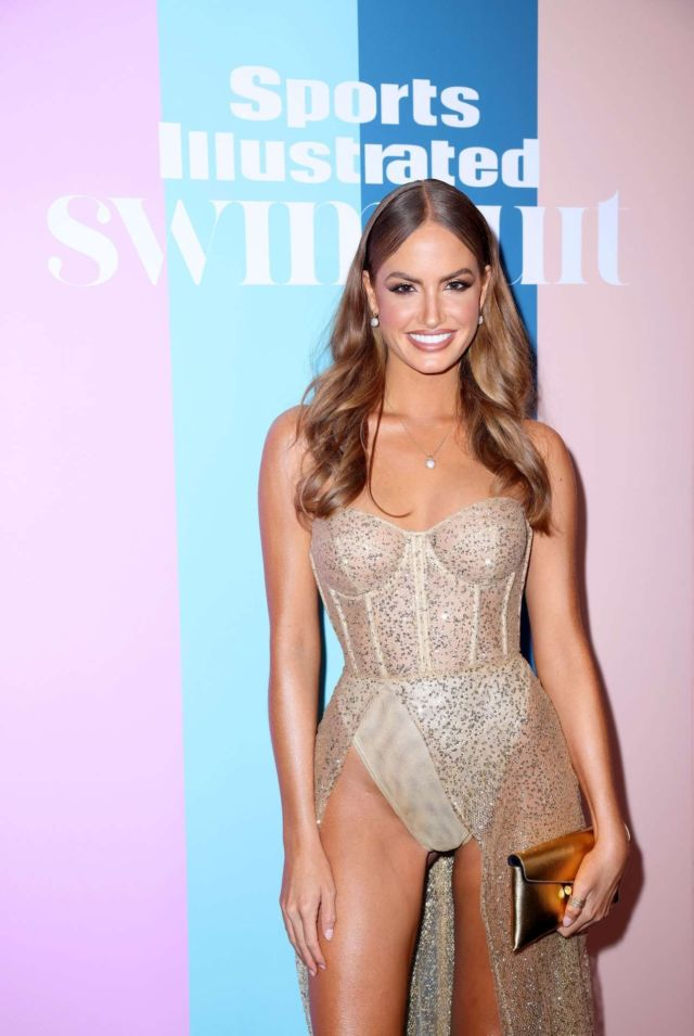 Haley Kalil Attends Sports Illustrated Swimsuit 2021 Private Event