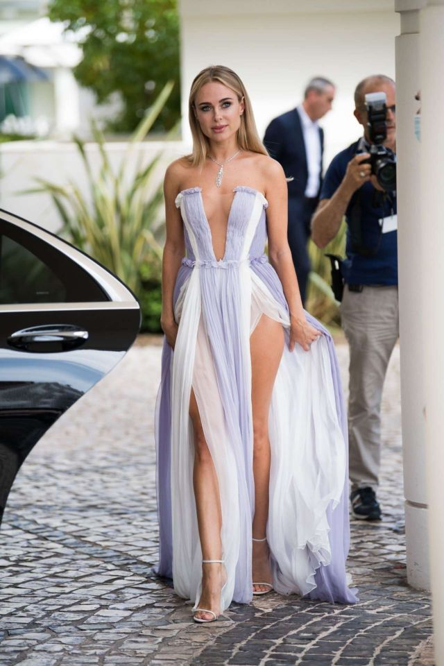Beautiful Kimberley Garner At The Premiere Of 'France' In Cannes