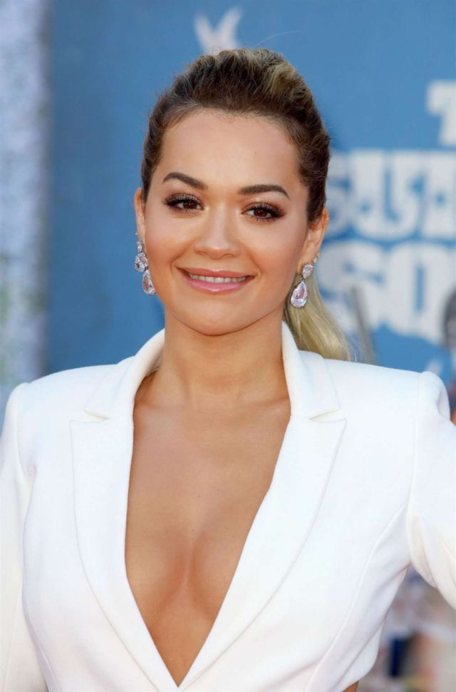 Glamorous Rita Ora Attends 'The Suicide Squad' Premiere In Los Angeles