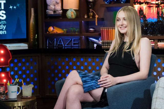 Dakota Fanning At The 'Watch What Happens Live' Event In New York