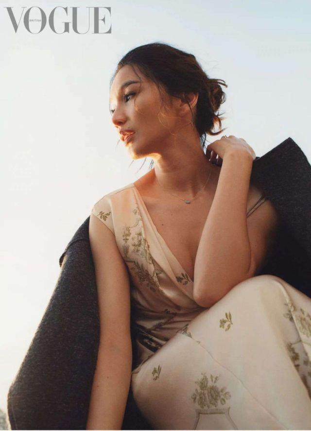 Gemma Chan Glams Up Vogue Magazine UK (September 2021)