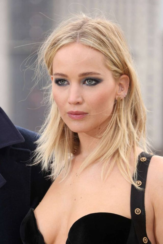 Jennifer Lawrence At The 'Red Sparrow' Photocall
