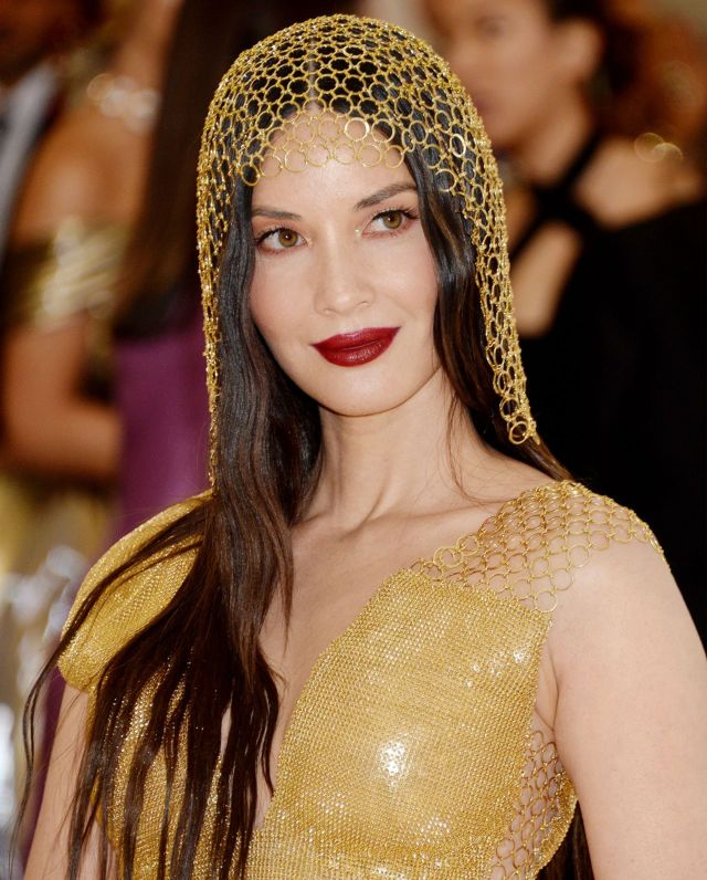 Golden Girl Olivia Munn At The MET Gala 2018