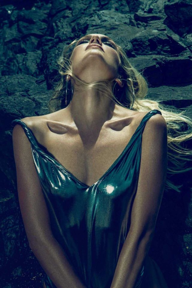 Candice Swanepoel Dazzle In DQKER Nation Magazine
