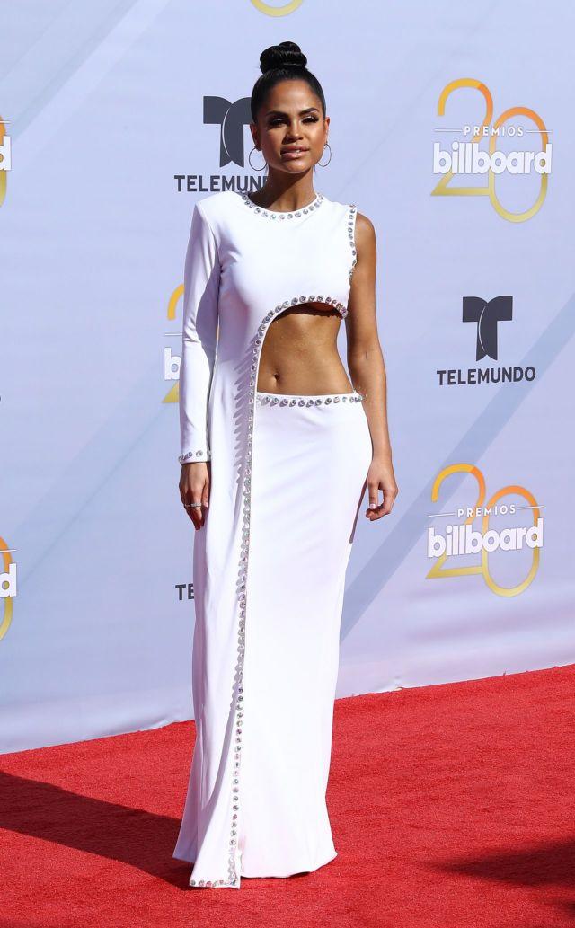 Natti Natasha Attended The Billboard Latin Music Awards In Las Vegas