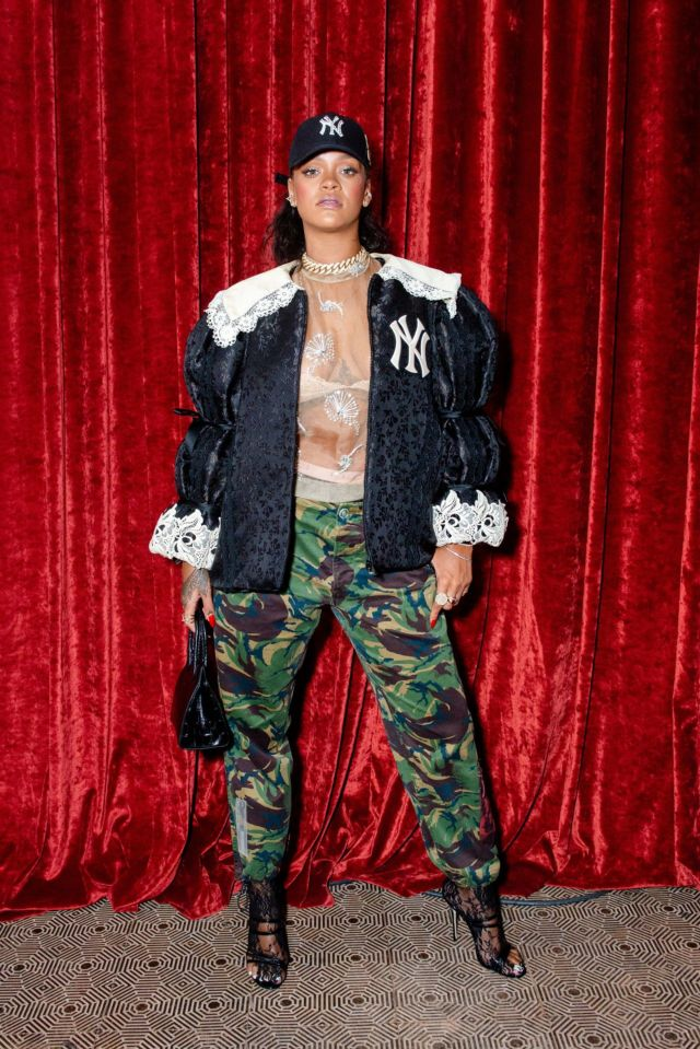 Rihanna Attends The Gucci Wooster Store Opening Party