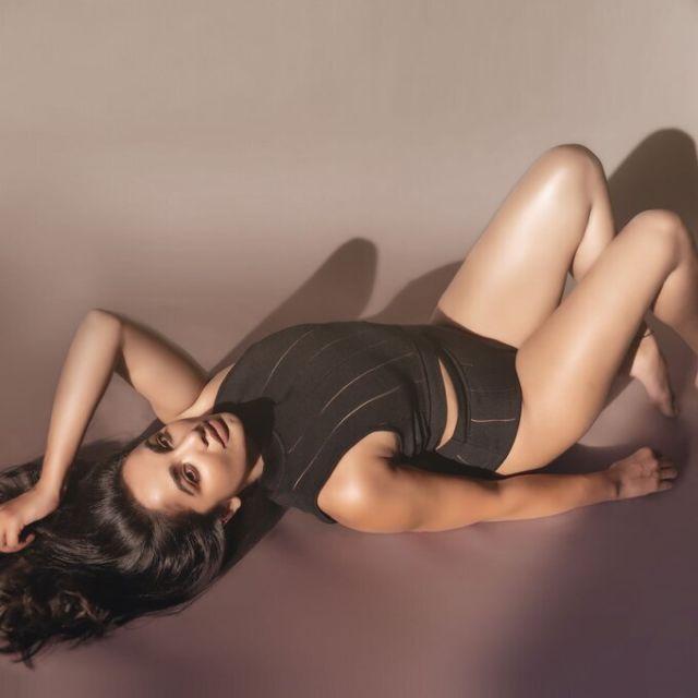 Beautiful Tejaswi Madivada's Slays In Black
